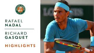 Rafael Nadal vs Richard Gasquet - Round 3 Highlights I Roland-Garros 2018