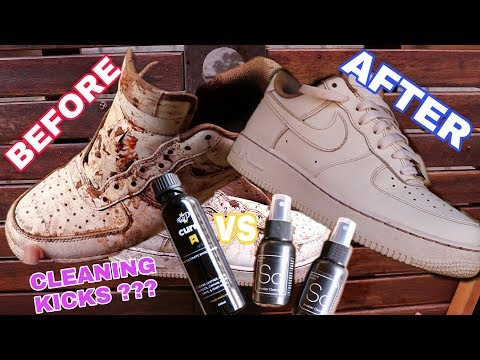 SneakerLab VS Crep Cure (The Ultimate Sneaker Cleaning test) | South Africa
