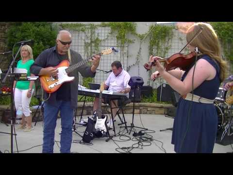 The City Street Band w/David Tilley perform at The Block Party.6-8-2017