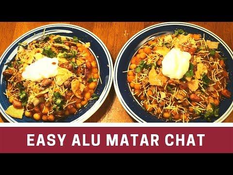 *ଦୁର୍ଗାପୁଜା ସ୍ପେସିଆଲ ଆଳୁ ମଟର ଚାଟ୍* | Aalu Matar Chat Recipe In Odia | Odisha Aloo Chaat Recipe