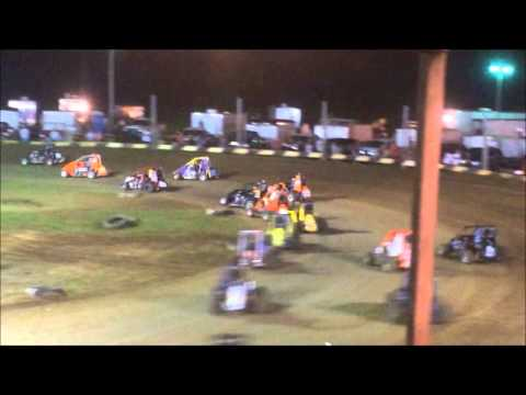 Non-Wing Feature at Miami County Speedway - 8/31/14