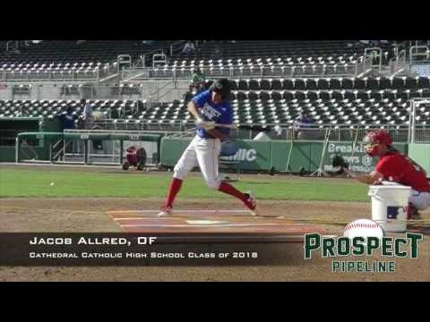 Jacob Allred, OF, Cathedral Catholic High School, Swing Mechanics at 200 FPS