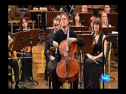 Alban Gerhardt's Encore in Madrid: Bach Prelude of 6th Suite