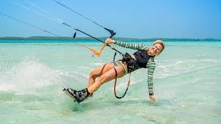 Los Roques 2016 Kitesurfing - by @cecikite