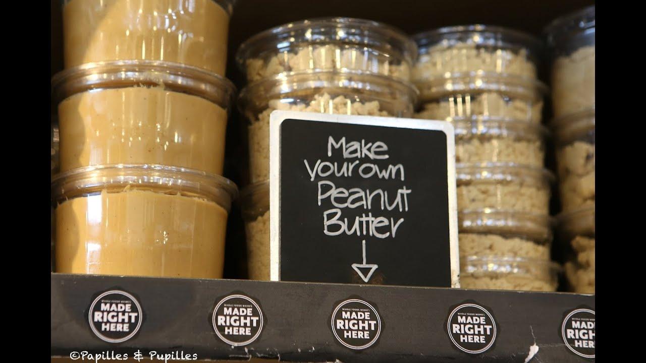 faire son beurre de cacahu tes chez whole foods market youtube. Black Bedroom Furniture Sets. Home Design Ideas