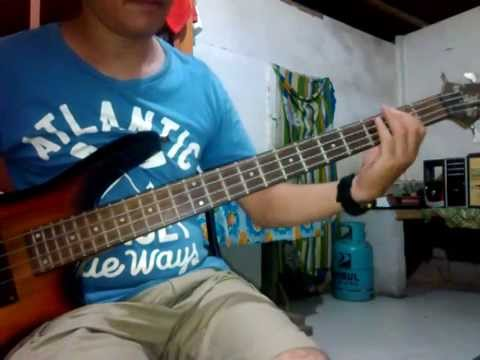 how to play don t stop believing on bass