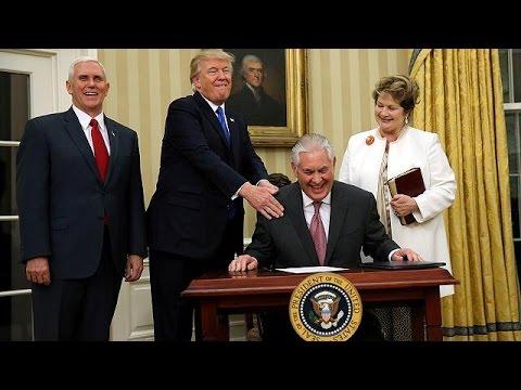 Tillerson officiellement nommé Secrétaire d