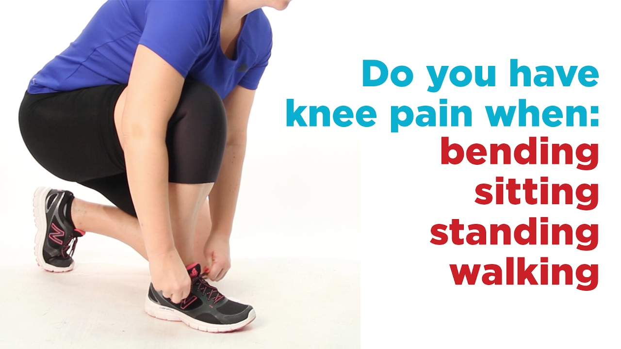 knee pain while walking and bending