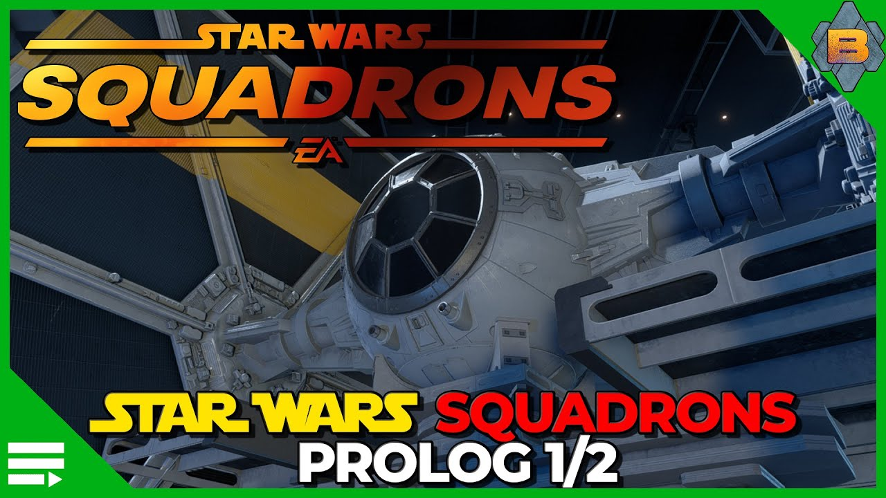 Star Wars Squadrons deutsch Prolog 1/2 (Episode 1) HOTAS Gameplay