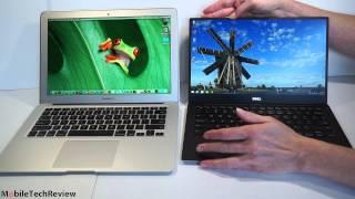 """Dell XPS 13 2015 vs 13"""" MacBook Air 2014 Comparison Smackdown"""