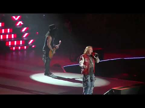 """GUNS N' ROSES - ITS SO EASY - """"LIVE"""" THE FORUM L.A 11-25-2017"""