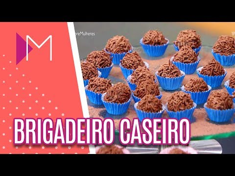 Desafio da Chef | Brigadeiro caseiro - Mulheres (07/05/18)