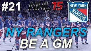 NHL 15: GM Mode: New York Rangers #21
