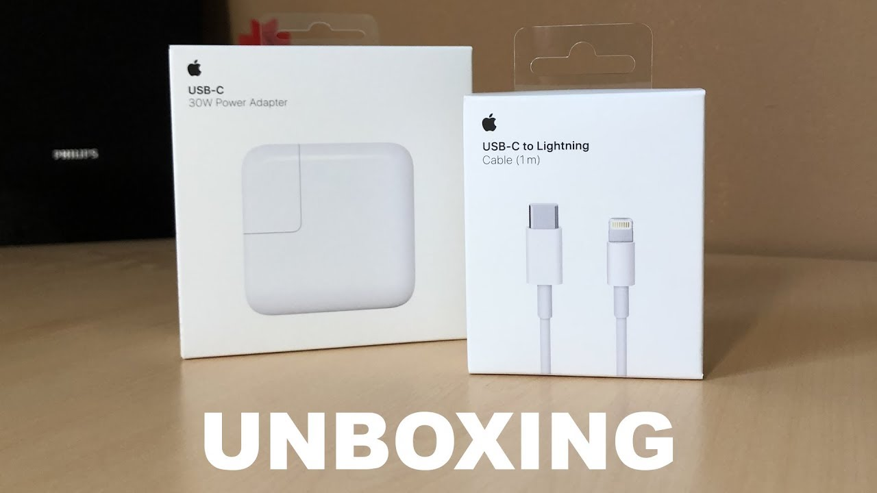 Genuine Apple 30W USB-C Power Adapter New With Bonus USB-C Cable!