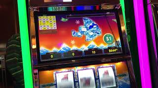 VGT Slots Polar High Roller Handpay More Playing  Choctaw Gambling Casino, Durant, OK