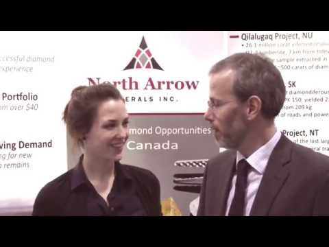 North Arrow Minerals: Bulk Sample Processing Approaching Completion