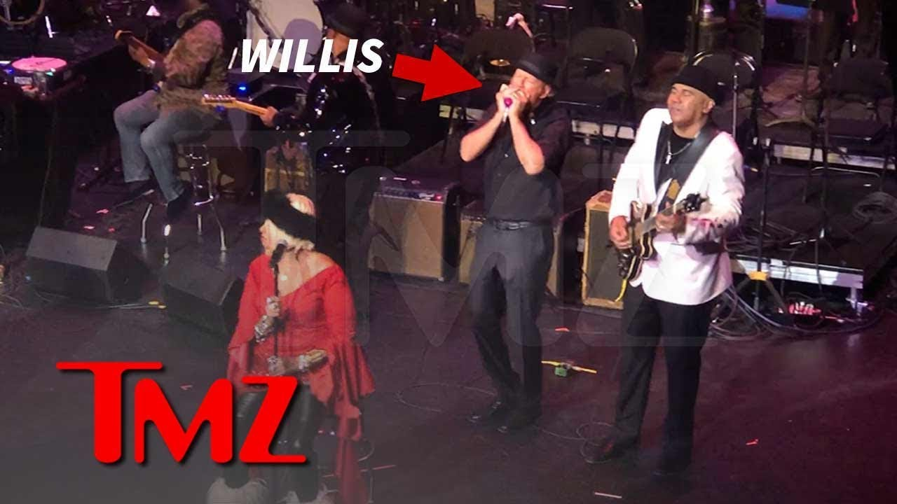 Bruce Willis Plays Harmonica, Sings During Jazz Show in Harlem | TMZ