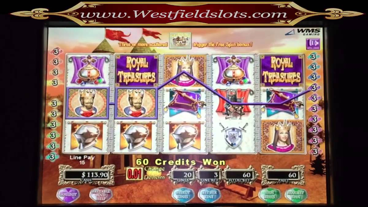 Royal treasures slot machines jackpot casino in red deer