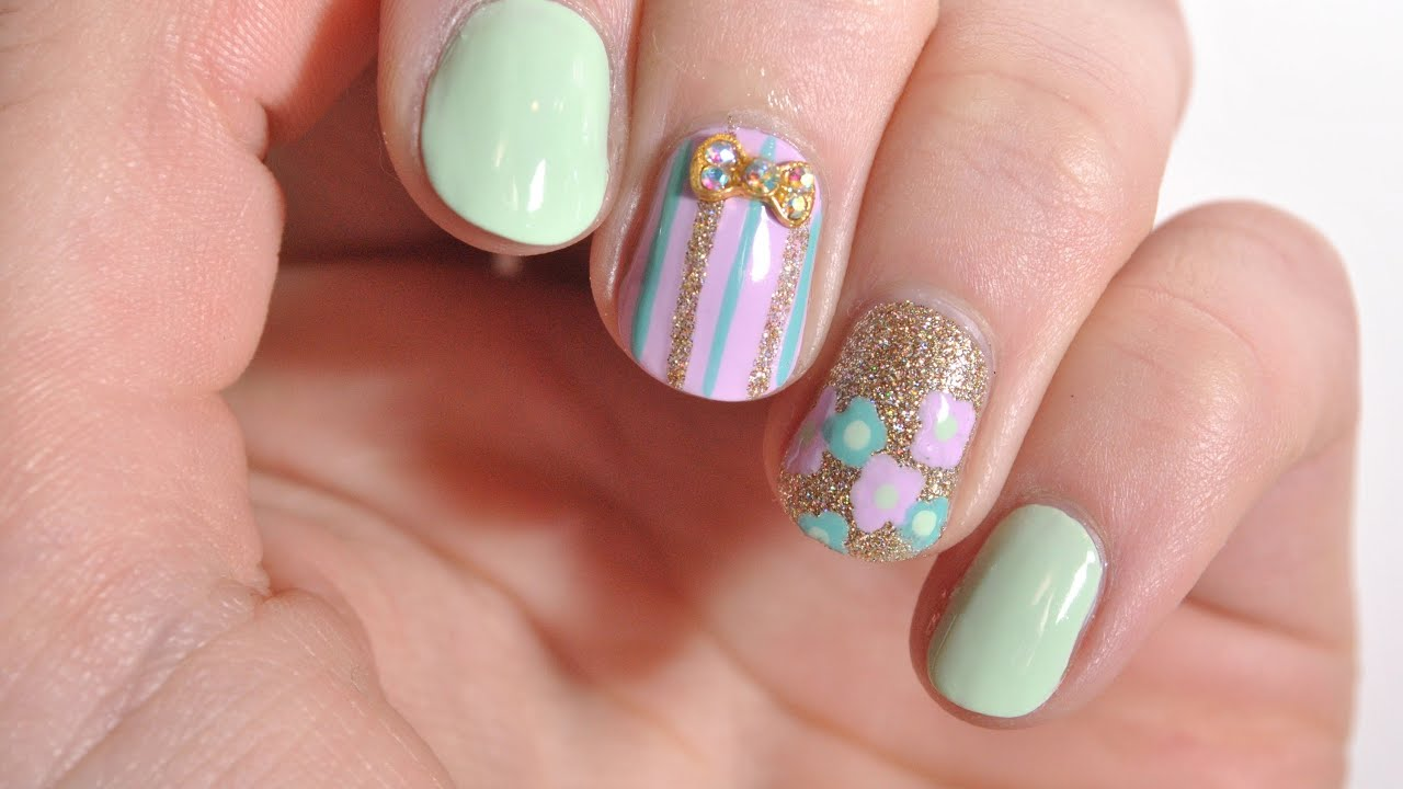 cute and easy spring nails nail