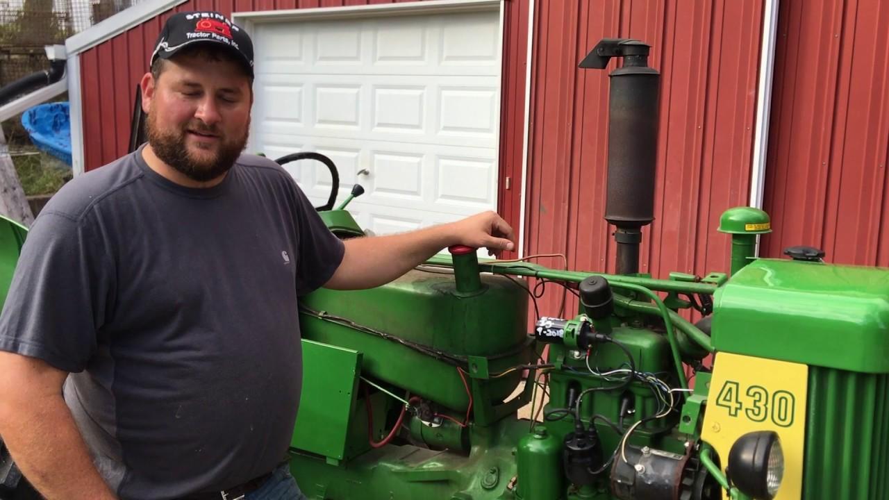 """64/"""" BATTERY CABLE John Deere 50 520 60 620 70 720 730 A B Tractors"""