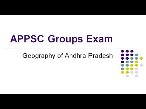APPSC Groups Exam   Geography of Andhra Pradesh