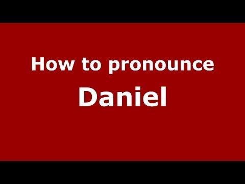 How to pronounce Daniel (Polish/Poland) - PronounceNames.com