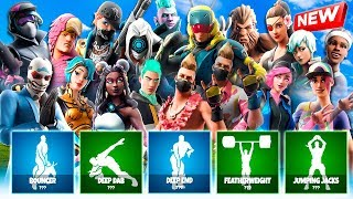 🔥 *FILTRATED* ALL NEW FORTNITE SKINS AND BAILES! 🔥 (THEY ARE MANY!) [Flopper]