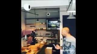 Halit in Berguzar's cafe ''Not Just Coffee'' !!!!!!