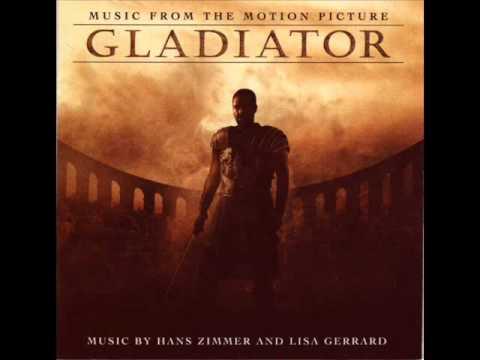 colonna sonora del gladiatore da
