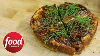 Deep-Dish BBQ Pizza | Food Network