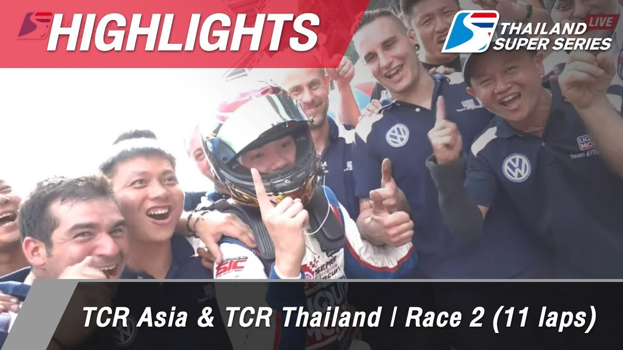 Highlights : TCR Asia & TCR Thailand | Race 2 (11 laps)