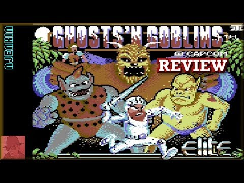 Ghosts 'n Goblins - On The Commodore 64 !! With Commentary