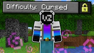 "Attempting ""Cursed"" Difficulty in Minecraft... (Is It Possible?)"