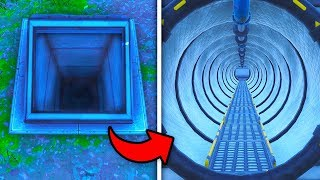 SECRET UNDERGROUND TUNNEL Found In Fortnite Season 6 (New Location Bunker)