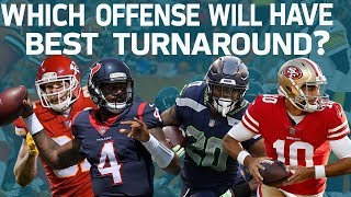 Which Offense Will Have the Best Turnaround?   Good Morning Football   NFL Network