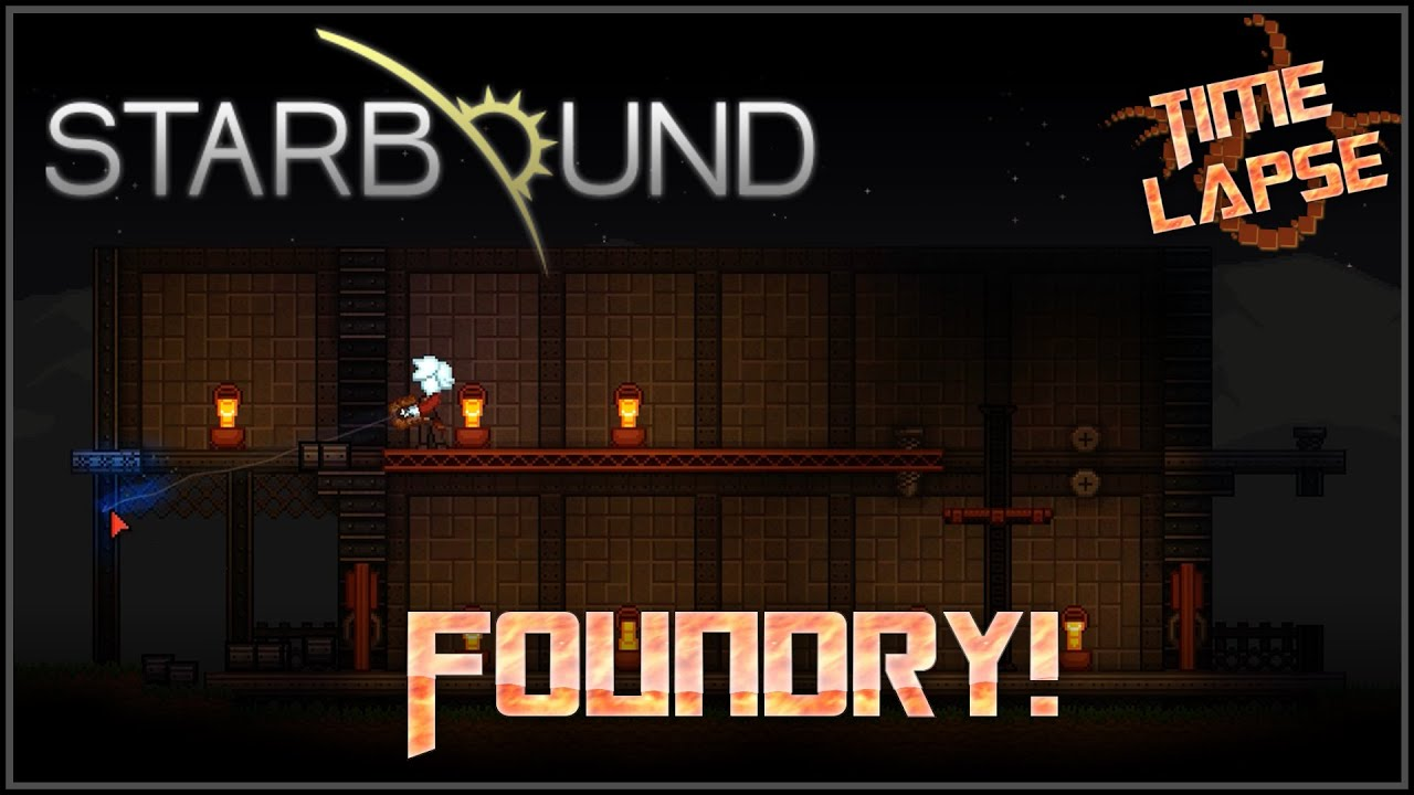 Starbound Timelapses Foundry Unstable Build Wiring Station In