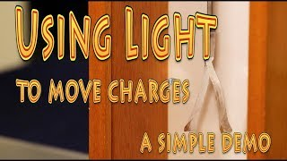Quick physics - an easy demonstration of photoelectric Effect