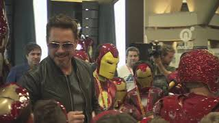 Robert Downey Jr. Crashes a Kid's Iron Man Costume Contest at ComicCon 2012