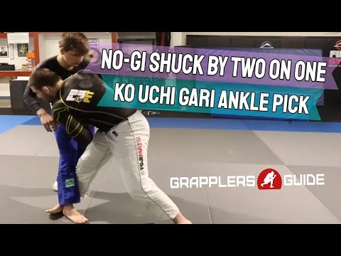 Travis Stevens - No-Gi Shuck By Two On One Ko Uchi Gari Ankle Pick