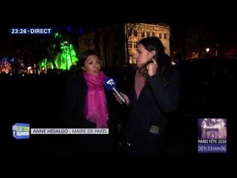 Suivez en direct le spectacle du Nouvel An sur les ChampsElysées