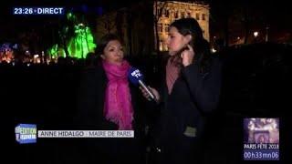 Suivez en direct le spectacle du Nouvel An sur les Champs-Elysées