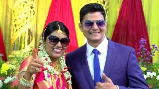 Video Rajesh Weds Priya Reception Promo download MP3, 3GP, MP4, WEBM, AVI, FLV Oktober 2018