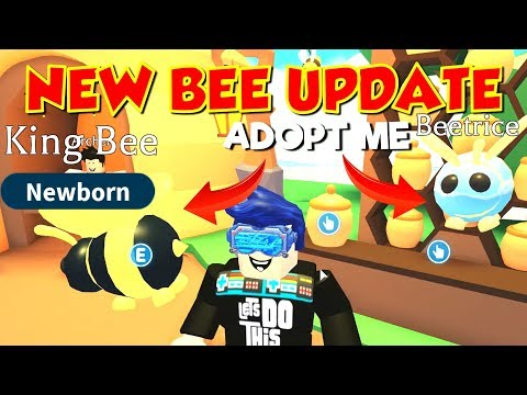 **NEW** ADOPT ME BEE UPDATE - THE BEES ARE HERE 🐝🐝🐝