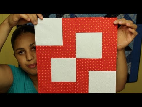 Como hacer cuadrado de patchwork esquinas de paciencia - Como hacer pachwork ...
