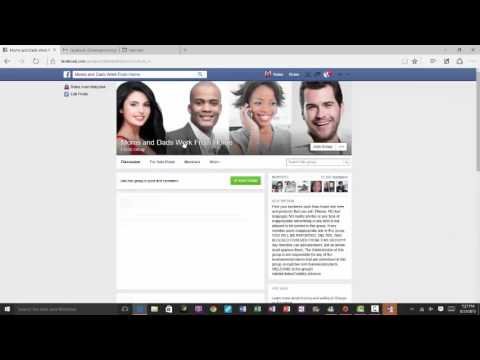 how to search groups on facebook