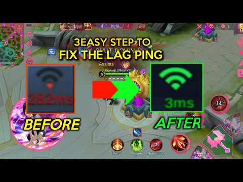 3EASY STEP TO FIX PING LAG IN MOBILE LEGENDS | 2020