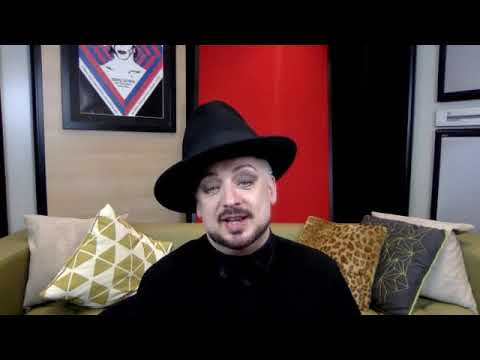 """Boy George & Culture Club Q&A - """"LIFE"""" Release Day - 26.10.18 (part One)"""