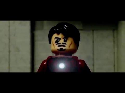 Видео: Первый Мститель: Противостояние (LEGO трейлер)