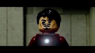 Первый Мститель: Противостояние (LEGO трейлер)