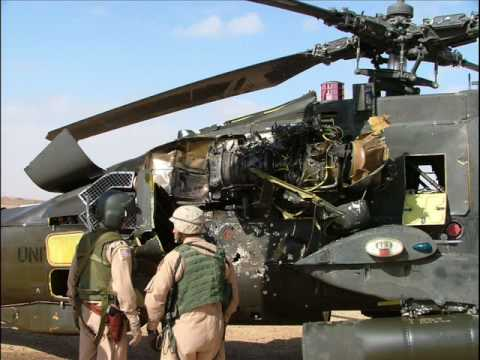 apache helicopter shot down in iraq youtube